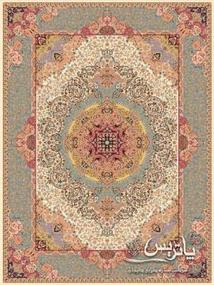 تصویر فرش نقره کرم ۱۲۰۰ شانه