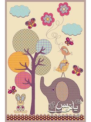 فرش گلیم درخت آرزو ۴۰۰ شانه