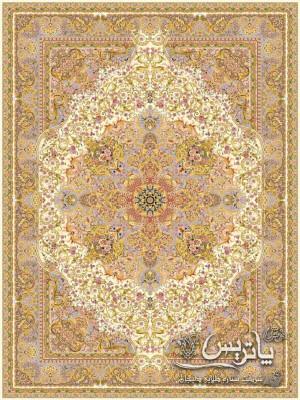 تصویر فرش زرین کرم ۱۲۰۰ شانه