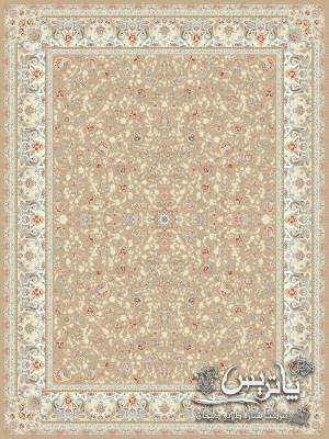 تصویر فرش گیتا خاکی روشن ۱۰۵۰ شانه